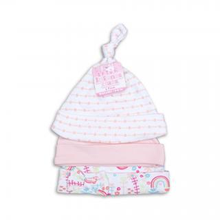 """Бебешки шапки """"Pink"""""""