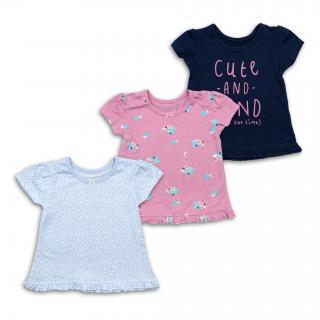 "Тениски ""Cute"" 3 бр."